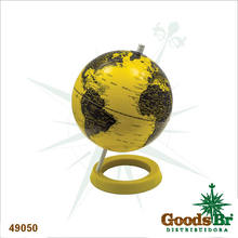 _GLOBO COLO YELLOW/BLACK POLISHED FULLWAY 28x20x20cm