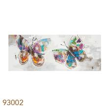_QUADRO PINTURA 2 BUTTERFLIES FULLWAY 70x180x4cm