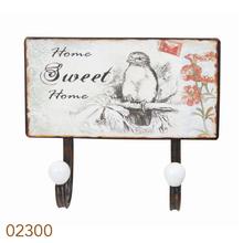 _GANCHEIRAMETAL 2 GANC SWEETHOME OLDWAY 23x20x8cm
