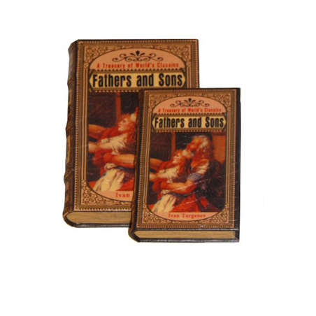 _BOOK BOX CJ 2PC FATHER AND SONS OLDWAY 33x22x7cm