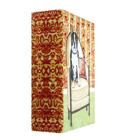 _BOOK BOX CACHORRO POLTRO OLDWAY 22x17x7cm