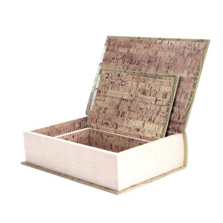 _BOOK BOX CJ 2PC DURHAN WAREHSE OLDWAY 31x21x7cm