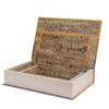 _BOOK BOX CJ 2PC FADA LARANJA ROXO OLDWAY 33x22x7cm