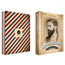 BOOK BOX BARBERSHOP FULLWAY 36X27X5CM