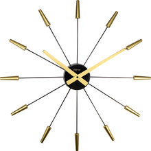 RELOGIO DE PAREDE PLUG INN GOLD NEXTIME D=58cm