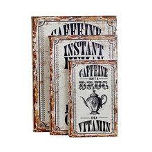BOOK BOX CJ3PCS CAFFEINEVITAMIN OLDWAY 35x26x8cm