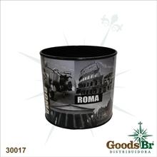 LIXEIRA ROMA CJ 2PC OVAL FULLWAY 29x22x29cm
