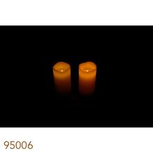 VELAS LED CJ 2PC MARFIM FULLWAY 15x8x8cm