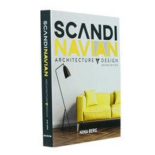 BOOK BOX SCANDINAVIAN ARCHITECTURE &DESIGN FULLWAY 30x23x4cm
