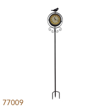_RELOGIO/TERMOMETRO C ESTACABROWNBIRD GREENWAY 110x20x11cm