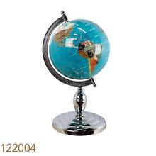 GLOBO DE PEDRAS L. BLUE SILVERGOLDWAY D=22 42x22x22cm
