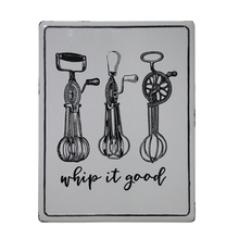 PLACA DE METAL SHIP IT GOOD GREY 45,5x35,5x1,7cm