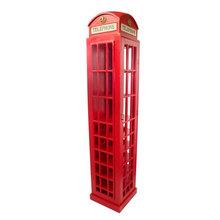 ADEGA EM MADEIRA GG CABINE TELEFONICA OLDWAY 211x44x44cm