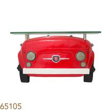 _APARADOR PAREDE FTE FIAT 500 VERMELHO OLDWAY 42x70x12cm