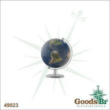 GLOBO REAL G BASE ARCO PRATA FULLWAY 17x13x14cm