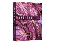 BOOK BOX GEO NATURAL STONES 30X24X4CM