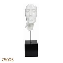 ESTATUA RESINA BRANCA BEIJONA MAO FULLWAY 71x18x26cm