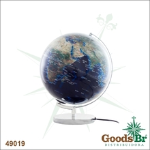 GLOBO POPULACAO COM LUZ  BASESLIM FULLWAY 36x33x30cm