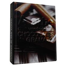 BOOK BOX A ARTE DOS CHOCOLATES 20x16x5cm