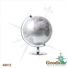GLOBO DESIGN PRATA BASE TRAD CROM FULLWAY D=20 27x20x20cm