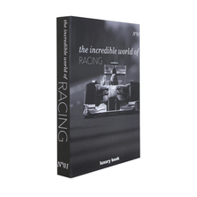 BOOK BOX INCREDIBLE WORLD OFRACING FULLWAY 36x27x5cm