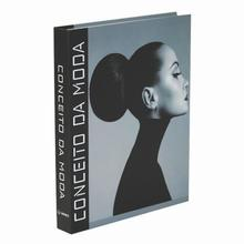 BOOK BOX CONCEITO DA MODA 30x24X4CM