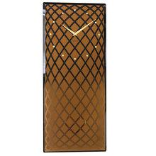 RELOGIO PAREDE RETANGULAR COPPER NEXTIME 70x30cm