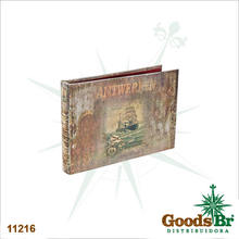 _ALBUM FOTOS CARAVELA 24PG 192 FOTOS OLDWAY 2x36x5cm