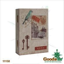 PORTA CHAVES BOOK BIRD VENEZA OLDWAY 26x19x7cm