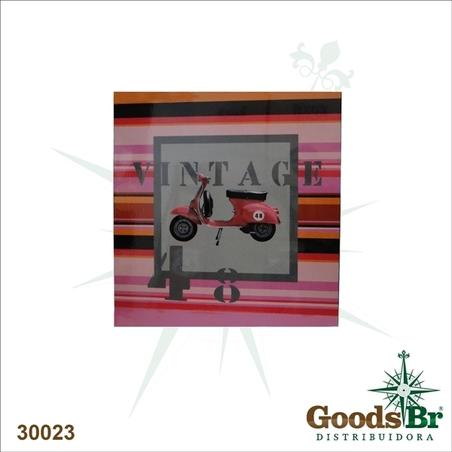 -quadro impresso laca vintage 48  70x70x6cm