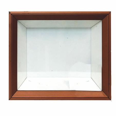 quadro safe moments branco/cobre 30x35x7cm