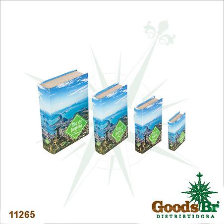 -book box cj 4pc rio de janeiro 30x21x7cm
