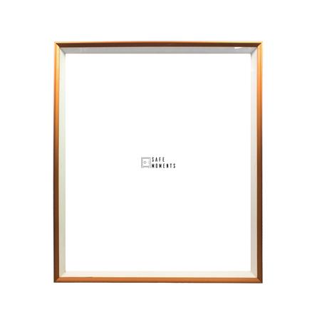quadro safe moments branco/cobre 105x90x7cm