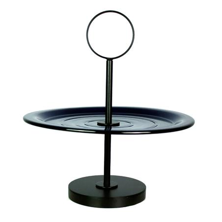 fruteira de mesa prato bolo pazul 36x33x33cm