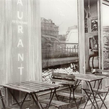 -quadro/tampo frente vidro reaurant  60x60x7cm