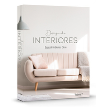 BOOK BOX  DESIGN DE INTERIORES AMBIENTES CLEAN 36x27x5cm