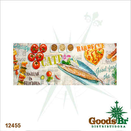 -tela impressa alimentos  60x150x4cm