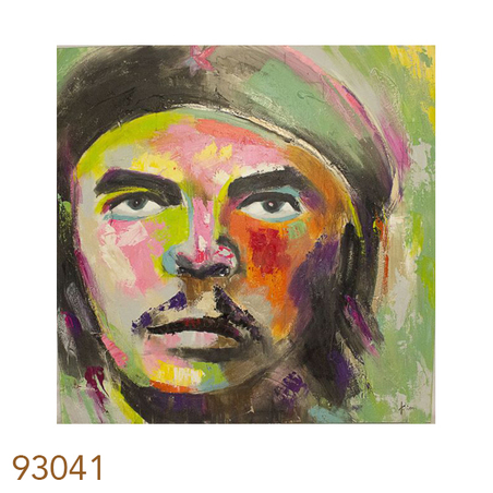 -quadro pintura che guevara colors  150x150x4cm