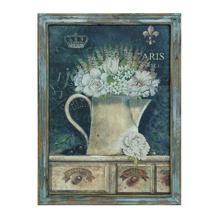 quadro flowers  40x30x1,51,5