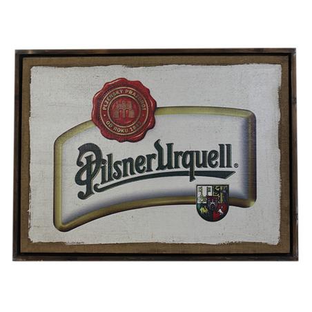 quadro linho pilsner urquell  60x80x4cm