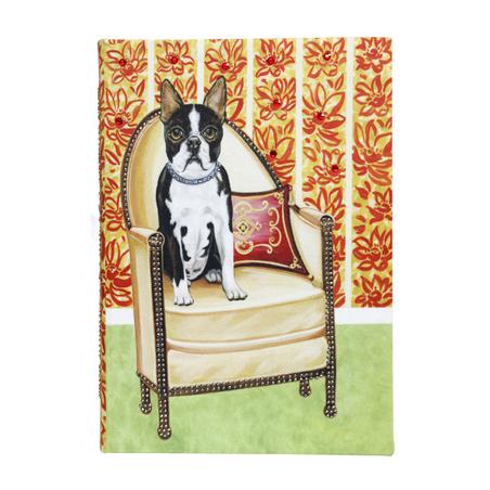 -book box cachorro poltro  22x17x7cm