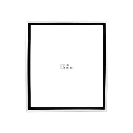 quadro safe moments preto/branco 105x90x7cm