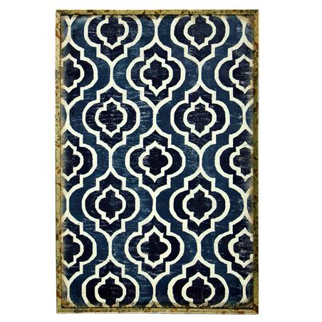 quadro com moldura azulejos60x40x4cm