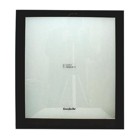 quadro safe moments nogueira/preto 70x60x7cm