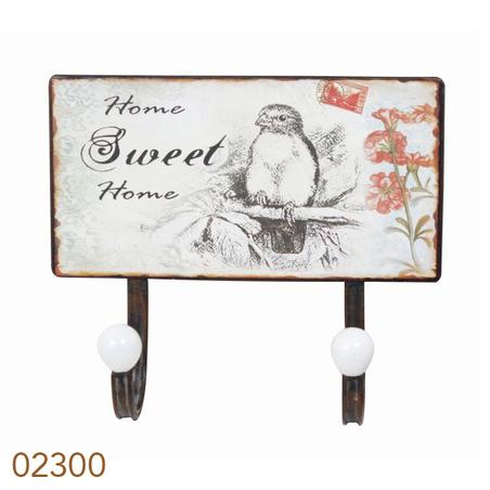 gancheirametal 2 ganc sweethome  23x20x8cm