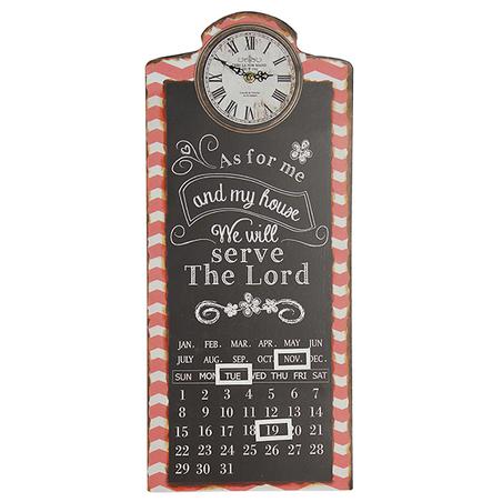 -relogio com calendar/quad thelord  58x25x4cm
