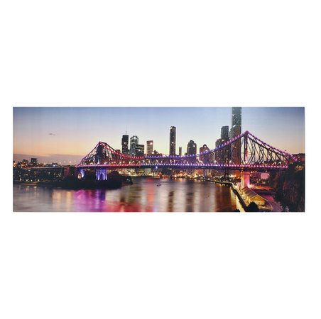 tela impressa led bridge  70x195x4cm