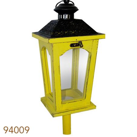 lanterna chao amarelo/preto141x17x17cm