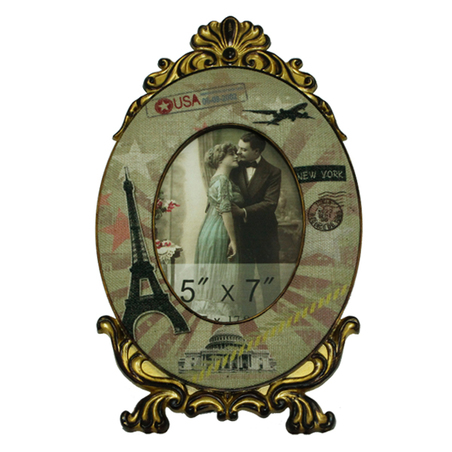 porta retrato travel ocre  36x21,7x2cm