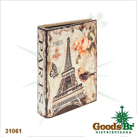 album flowers eiffel tower33x23x6cm